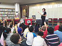 Students Meet Mystery Series Author